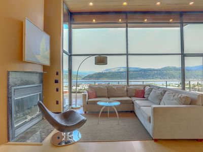 Photo for ALIZES - Luxury Flagship Home, Best Gorge Views, Downtown, Theater Room, Exceptional