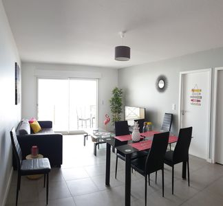 Photo for T3 50m2 + Terrace 15m2 SEEN SEA VIEW, 6 pers, Wifi and parking included, N ° 1