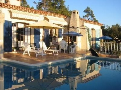 Photo for Provencal villa center var