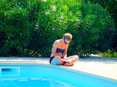 Photo for PURE RELAXATION!, Calm, seabl. Pool, priv. Garden, climate, no holiday complex!
