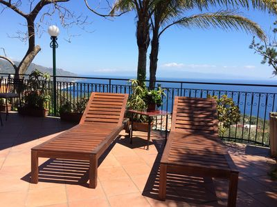 Photo for SEA VIEW CASA LILI  Terrace + Garden Taormina