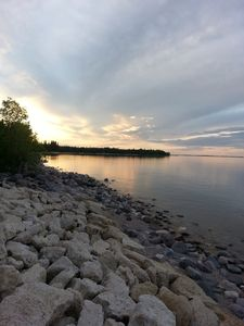 Photo for Beautiful Lakefront Lake Winnipeg Paradise with 4 bedroom and 2 bathrooms!