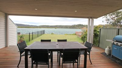 Photo for BOAT HOUSE STARBOARD - 2 Lindo Street- Fronting Bermagui river, boat parking
