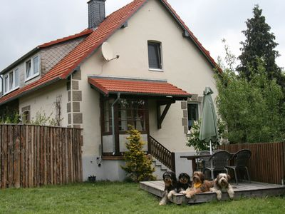 Photo for Beautiful accommodation in the Hochsauerland region in a quiet location with garden - dogs welcome