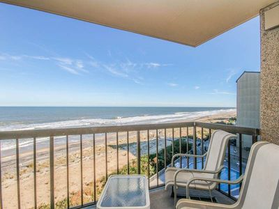 Photo for F607: Oceanfront 2BR+den, 2BA at Sea Colony! | Private beach, pools, tennis & more!