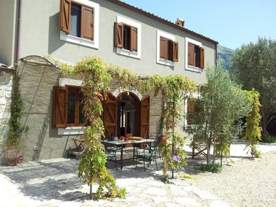 Photo for CASA DEI GRANCI, LUXURIOUS FARMHOUSE IN ESTATE OF 4 HECTARES WITH LARGE POOL