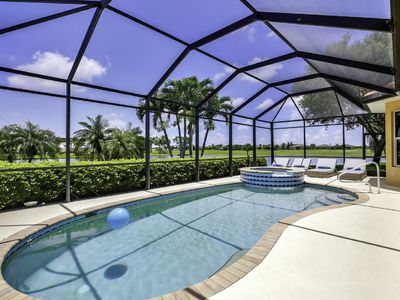 Photo for Villa - private pool with lakeview in Lely with Players Club membership AND WIFI