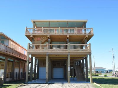 Brand new with unobstructed view and mezzanine deck -- Looney Dunes