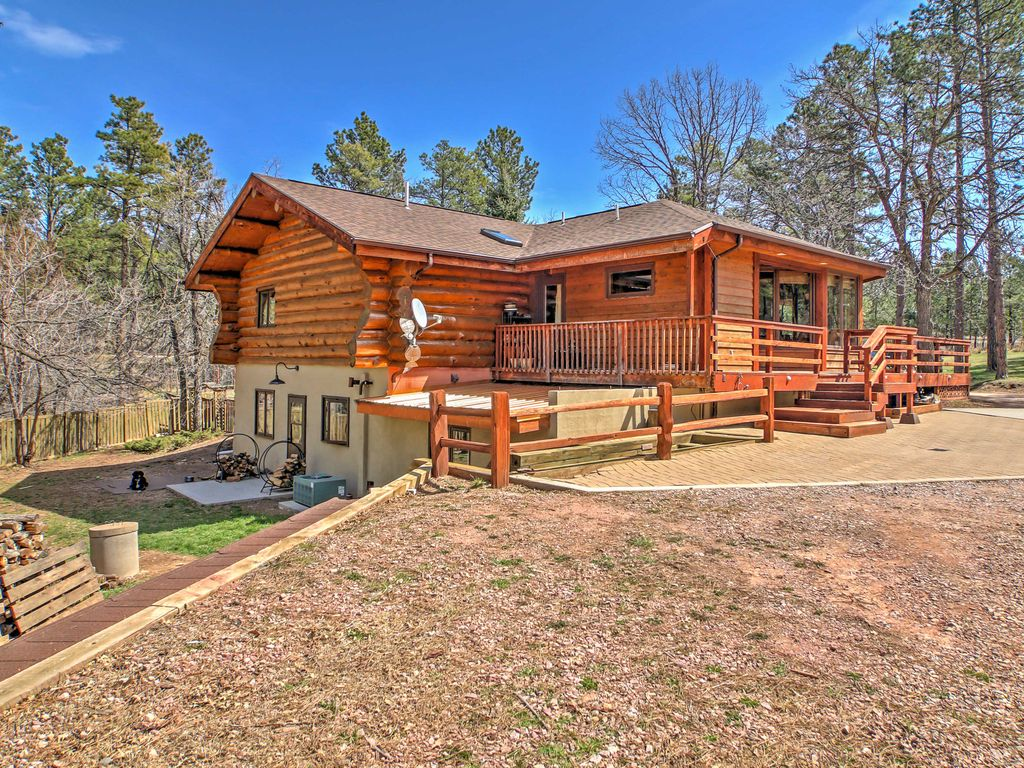 new 3br rapid city cabin near mount rushmore