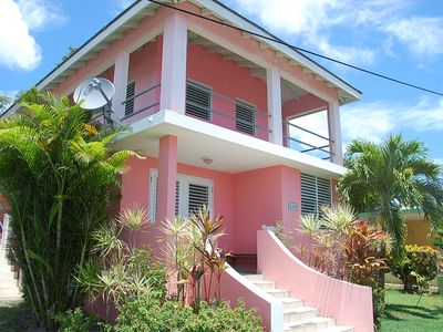 Photo for The Pink House - Loft for Two-Private, Walkable to Restaurants and the Beach