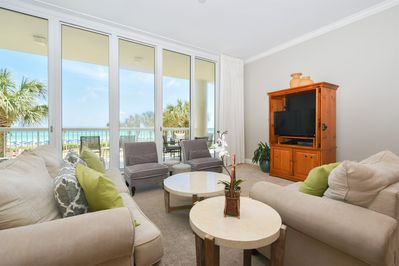 2 Silver Beach Towers West 202 - Living Area View 2