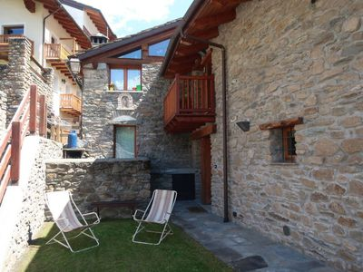 Photo for Apartment Ferienhaus (CMU400) in Courmayeur - 5 persons, 2 bedrooms