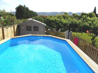Photo for PROVENCAL MAS QUIET AND COMFORTABLE IN THE COUNTRYSIDE WITH SECURE SWIMMING POOL