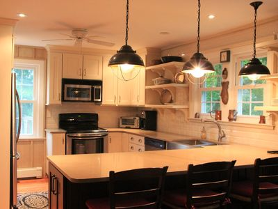 Photo for Southampton 6 bed 3 bath+ poolhouse & pool .5 mile to beach 4.7 miles to US Open