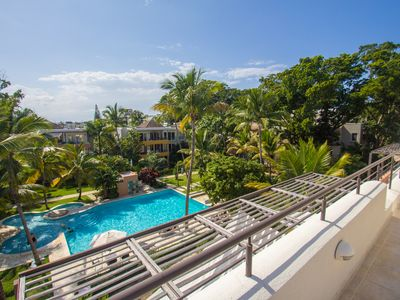 Photo for 3BD 3BD top-floor condo in beachfront kids-friendly residence, near everything