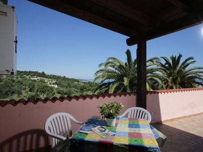 Photo for Villa Hibiscus - Panoramic studio for 2 people in a villa with pool