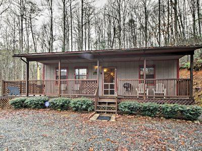 Photo for Bryson City Cabin in Smoky Mountains w/ Hot Tub!