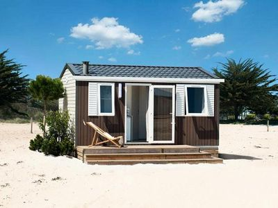 Photo for Camping Nauzan Plage **** - Mobile home Comfort 2 Rooms 2 Persons