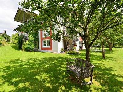 Photo for Nice flat with sauna, covered terrace, garden and tree house for children