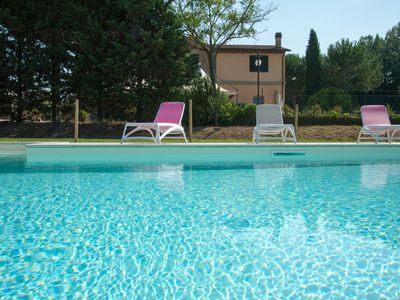 Photo for Holiday apartment in Farmhouse between Assisi and Perugia