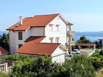 Photo for One bedroom apartment with terrace and sea view Crikvenica (A-5589-b)