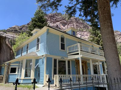 Photo for Stunning Victorian with Mountain and Waterfall Views Sleeps 8 Adults in Ouray CO