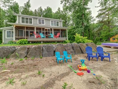 Photo for Waterfront vacation rental w/ a full kitchen & private dock