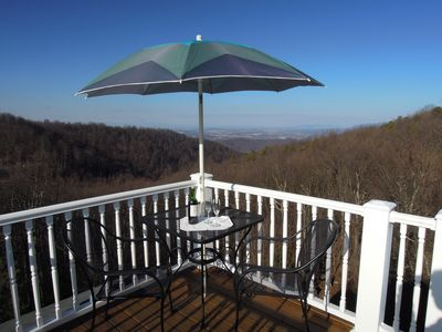 Photo for Mountain Top Home in Afton, walk to Blue Ridge Parkway,  25 min to Cville & UVA.