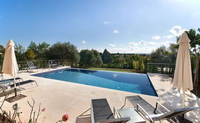 Photo for 4 bedroom Villa, sleeps 8 in sa Pobla with Pool, Air Con and WiFi