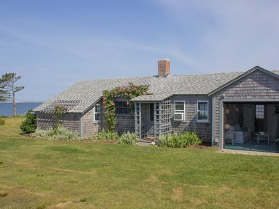 Photo for Beachfront Cottage with Amazing Views, Sunsets & Quiet Setting