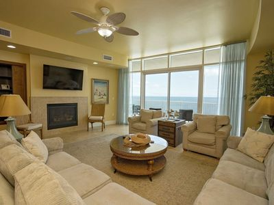 Photo for Gulf Front 3 Bedroom ~ All Tile ~ Great Amenities ~ Balcony Hot Tub/Grill ~ Turquoise Place 2104D