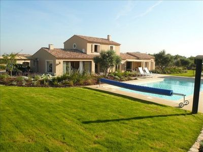 Photo for Provencal mas of prestige with private swimming pool in the Alpilles park