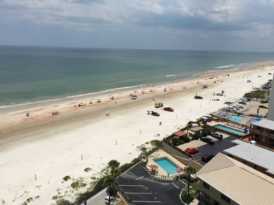 Photo for 3BR 2BA Oceanfront Riverview Condo, Sleeps 8 at Daytona Horizons
