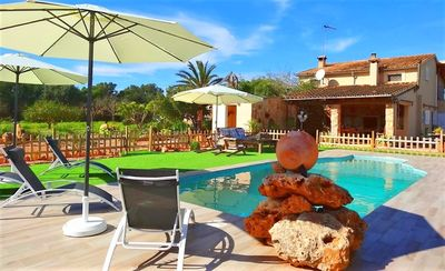 Photo for Son Antem authentic Majorcan villa with swimming pool 420