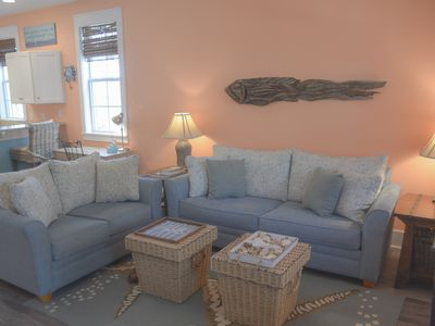 Photo for 2/2.5 town home in Barefoot Cottages, pet friendly, pool, short drive to beach.