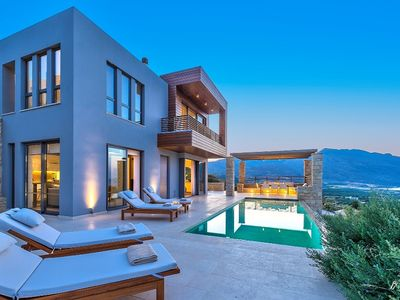 Photo for Villa Harmony - private - infinity pool sea views throughout the house