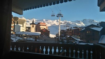 Photo for Studio 24 m2 south facing for 4 people in Val Thorens.