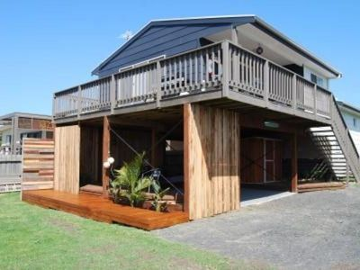 Photo for Surf Beach House at Surf Beach offers three bedrooms and views.