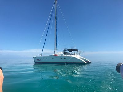 Photo for 42 Foot Key West Catamaran for rent- Private Charter-All activities Incl. for 6