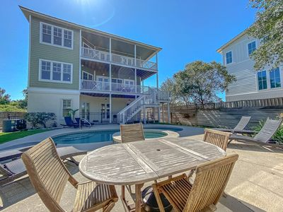 Photo for Luxury Gulf View Vacation Rental + Private Pool & Hot Tub