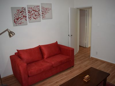 Photo for Visit our cozy home.    It is situated in a very nice neighbourhood.    Welcome!