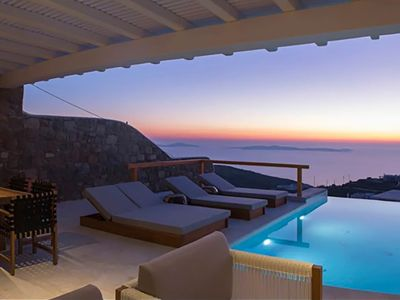 Photo for Panoramic Villa Denis to rent in Mykonos, with 5 bedrooms, private pool, 12 sleeps.