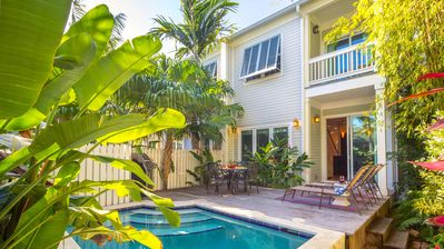 Photo for << THE CONTENTED CRANE @ OLD TOWN >> Home & Pool Near Duval + LAST KEY SERVICES...