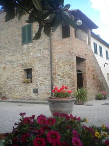 Photo for Ancient farmhouse app Salvia near San Gimignano Easter offer