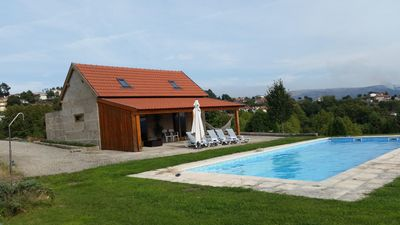 Photo for Country house with pool, barbecue, garden and terrace - ideal for families.