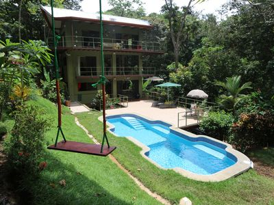 Photo for Jungle Roost, a beautifully appointed 4 story tree house near the beach