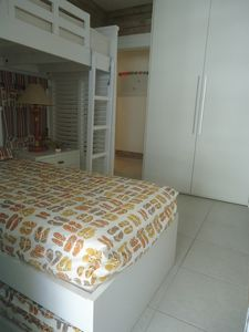 Photo for APT sea view, 100m from the beach, with terrace, complete recreation area and 2 spaces