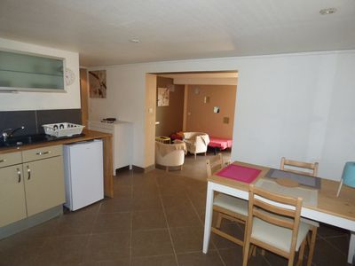 Photo for Between Aix en Pvce and Marseille, in the countryside. Private outdoor area, parking