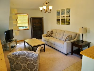 Living room with pullout sofa