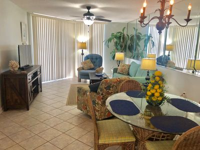 Dining area with family room